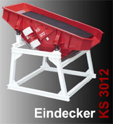 DiTec GmbH & Co KG Siebmaschine / Siebdeck / Siebstation KS 3012 der Fa. Klöckner Apparatebau.